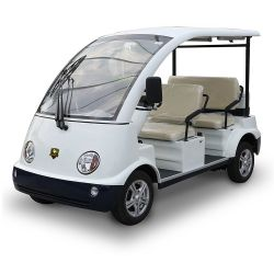 Best-seller bateria elétrica Excursões Aluguer de autocarros de luxo 4 Lugares Carro de Transporte Turístico para venda (DN-4)
