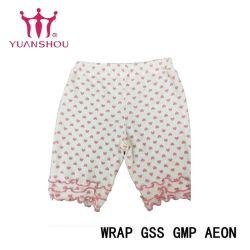 Coton personnalisés Fashion fille/garçon/enfant/enfants/nourrissons/enfants maille tricotés pantalons courts à partir de marque du groupe du vêtement pour bébé