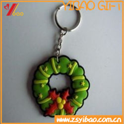 Логотип Cutome животных силиконового каучука ПВХ цепочки ключей поощрения подарки