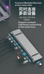 속도 허브 USB 3.0 4ports 허브 케이블 외부 전력 공급 USB 3.0 4 Por 허브