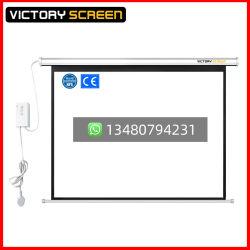 Victoryscreen Produttore di schermo di proiezione motorizzato/schermo proiettore/schermo elettrico bianco opaco (VS. ES100V)
