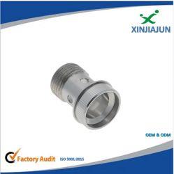 Montaggio di tubo flessibile ad alta pressione del metallo flessibile, adattatore lavorante dei montaggi del macchinario del manometro dell'acciaio inossidabile del ricambio auto di CNC