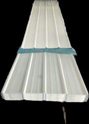 Гофрированный оцинкованный с полимерным покрытием RAL7016 стальных листа крыши