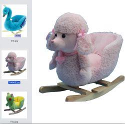China fornecimento fábrica Plush Design Animal balancim de bebé