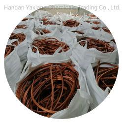La chatarra de cable de cobre de 99,99 % con una buena calidad de fabricación en China