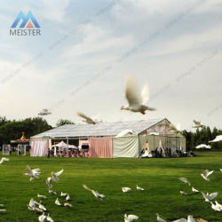 Grande tenda foranea esterna della tenda della festa nuziale del baldacchino di banchetto di evento per 300 genti