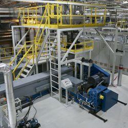 Китай PP Spunbond Спанбонд ткань машины в 3200мм ВВЦ текстильного машиностроения