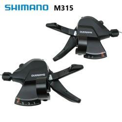Shimano Shifter M315/M310 Finger Dial 3*7/8 Speed Split Finger Mountain Selettore dita bicicletta 21/24 velocità