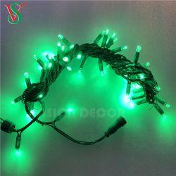 Conduit de lumière colorée pour Noël