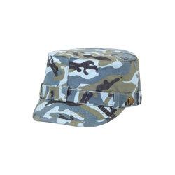 100% algodón de la moda del Ejército Flat Top Hat angustia lavado montado tapa militar