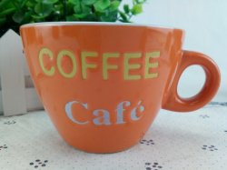 Керамические экологически безвредные цветной глазурью 4 унции Handpainted кофейные кружки для оптовых