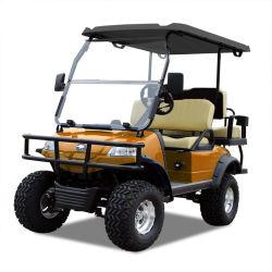 Elektrisches verwanztes Golf-Karren-Jagd-Auto (DEL2022D2Z, Orange) Blackroof