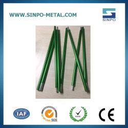 Liga de Alumínio personalizada de fábrica 7001 Tubos de alumínio Telescópico & Camping flexível de alumínio da série 7000 Tenda Pole