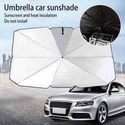 2020 Car тени зонтик новый портативный складной солнцезащитный крем от загара и теплоизоляция автомобиля под эгидой