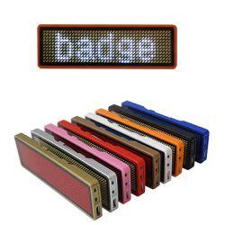 Pequena Mensagem Digital LED piscando garçons Monograma da Placa