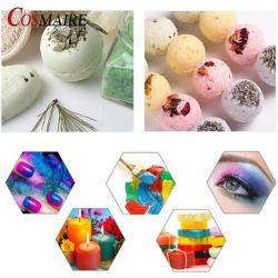 장식용 비누 색깔 돌비늘 분말 안료 비누 만들기 색깔