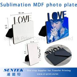 La sublimación de bricolaje Marcos de fotos en blanco de madera MDF Amor duro Marco de fotos de la Junta Don Imprimir