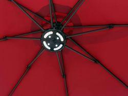 Paraguas de la luz de camping al aire libre de las luces de noche césped Jardín Jardín Lámpara inalámbrico parte de la luz de patio de piedra paraguas Farola sombrilla bombilla
