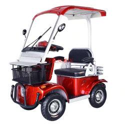 Smart ce approuvé New Arrival adulte alimenté par batterie 4 Voiture de golf Wheel Mobility Scooter