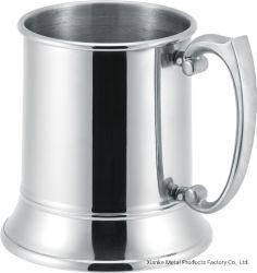 Entwurfs-Bier-Becher des Edelstahl-20oz einzelner geummauerter mit Zink-Legierungs-Griff für Ausgangs-oder Büro-Gebrauch