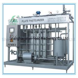 Placa Pasteurizer Certificado ISO automático Maquinaria