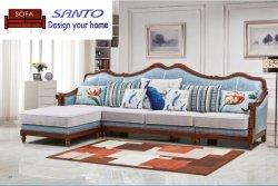 Rayon Polyester Blend Jacquard Corner Design Home meubels Gordijn stof Sofa