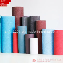L'alta qualità ha ricoperto il rullo del panno abrasivo per il polacco asciutto & bagnato (metallo, legno, acciaio inossidabile…)