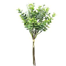 Mayorista fabricante Jardín Artificial decoración de eventos hojas de eucalipto el eucalipto Eucalipto sembrados de pulverización Bunch plantas