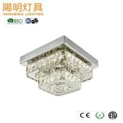 Indicatore luminoso di cristallo moderno decorativo del pendente della lampada del soffitto di illuminazione LED di Chanderlier di progetto dell'hotel