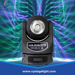 Phase à chaud 60 W Lumière RGBW 4en1 conduit de faisceau de la tête mobile
