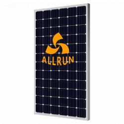 A elevada eficiência por grosso de energia solar de instrumentos 250W 300W /PV Painéis Solares 330W 350W 360W Preto Módulo Solar