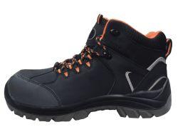 S3 Vrouwen van de Schoenen van de Veiligheid van het Leer Nubuck van de Mannen van Sra de Industriële/Dame Work Footwear met Van de van het Bedrijfs metaal van het Ce- Certificaat de Vrije Beste Kwaliteitsnorm het Werk Laars (SN5797)