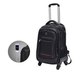 حامل متحرك مقاوم للمياه وكتفَين مزدوجَين سفر للعمل كمبيوتر محمول حقيبة ظهر للكمبيوتر الدفتري Leisure مع USB (CY1844)