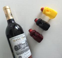 Nouveauté de promotion à bas prix en caoutchouc de silicone bouteille de whisky Verre à vin/les bouchons/Plug/Cap