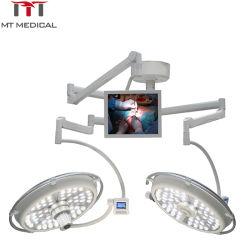 病院の器械の操作か操作LEDの外科Shadowless二重ドームの外科Otライト
