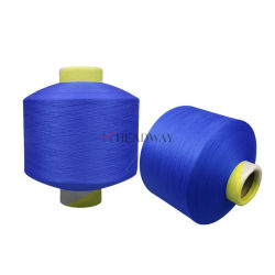 Filato con una bassa temperatura di fusione utile del Chenille del poliestere della fabbrica 150d/48f FDY di più nuovo disegno