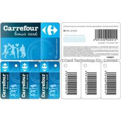 3-в-1 2-в-1 ПВХ Combo дисконтной карты со штрих-код или код QR печать