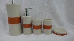 Home Use 5PCS Banho Polyresin Produto (BP2710-YS/YP)