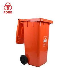 OEM van de Vervaardiging van China ODM Vuilnisbak van de Bak van de Kleur de Plastic met Wiel