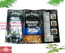 Imprimé en aluminium Pack sac pour l'emballage de la Sauce.