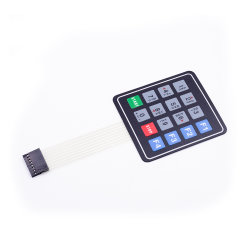 4X4 16 A chave do interruptor de membrana de matriz de teclado do teclado