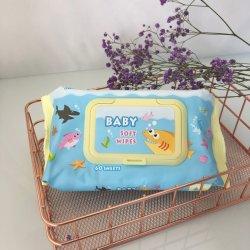 Bébé doux de haute qualité lingettes pour nettoyer le visage et de la main