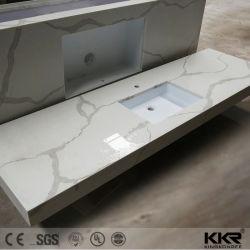 Chinesischer natürlicher preiswerter Stein für Badezimmer-Eitelkeits-Oberseite-KücheCountertop