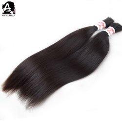 Angelbella необработанных природных Virgin волосы основную часть шелка прямой лучше всего человеческого волоса оптовой перуанской волос