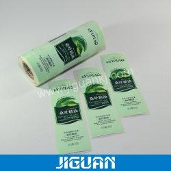 Contrassegno adesivo stampato dell'autoadesivo del prodotto dello sciampo del profumo del documento pp dell'animale domestico del PE del PVC BOPP del rullo elettronico cosmetico della bottiglia