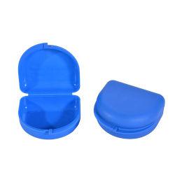 Molde para el cuadro de prótesis de plástico Bandeja de boca Caja de almacenamiento.