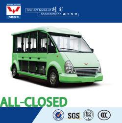 Neuer Entwurf verrosten nie 8 11 14 17 Seater elektrisches der Doppelventilkegel-Bus-besichtigenauto mit Qualität