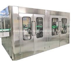 自動ガラスプラスチックびんの飲料のミネラル飲み物水洗浄の満ちるシーリング生産ラインびん詰めにするパッキング機械