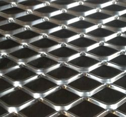 شبكة واسعة من الألومنيوم الشبكي المعدني