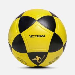 Comercio al por mayor el tamaño de logotipo personalizado de formación de 5 pelotas de fútbol